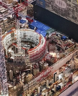 construction supervision ITER project