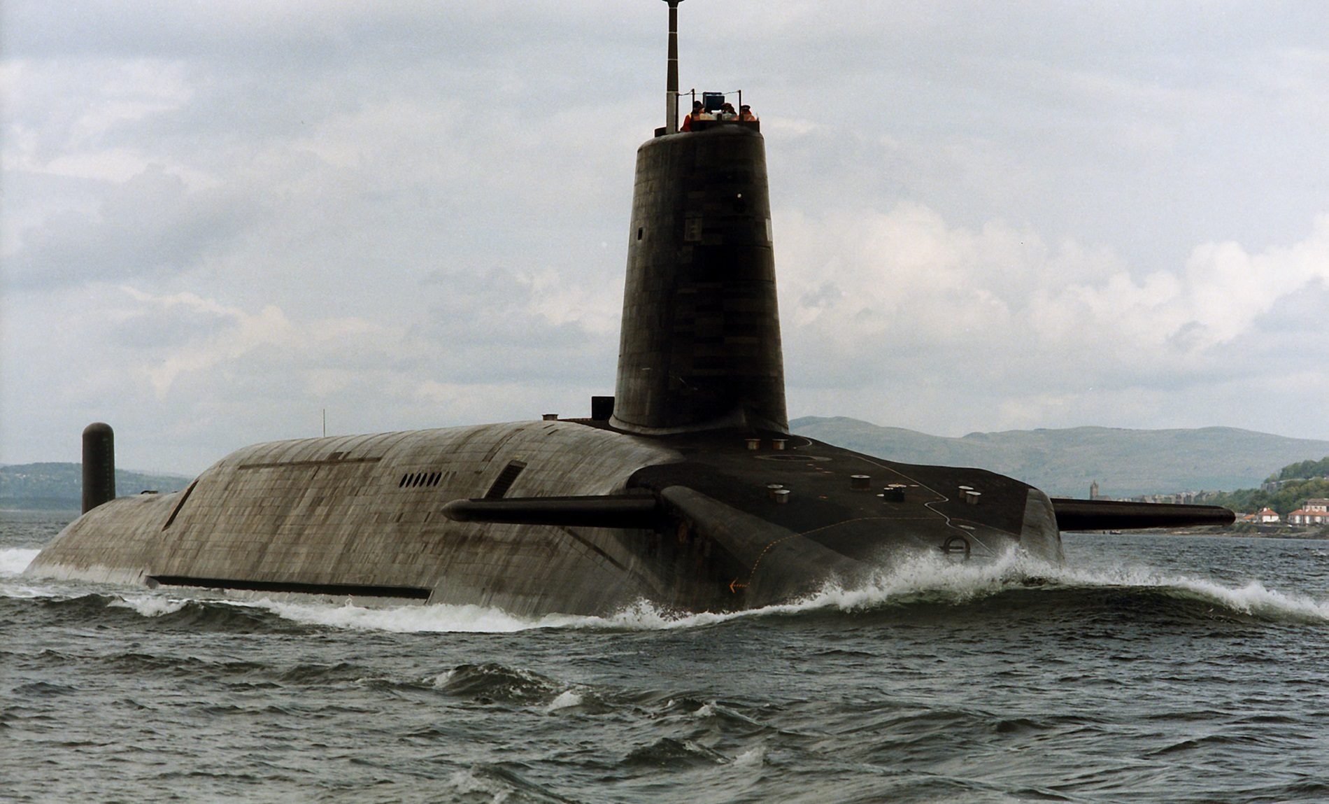 Design tooling Nuclear Submarines